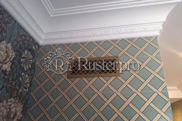 Вентиляционная решетка с орнаментом Ромбы