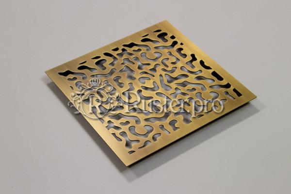 Элитная вентиляционная решетка из латуни