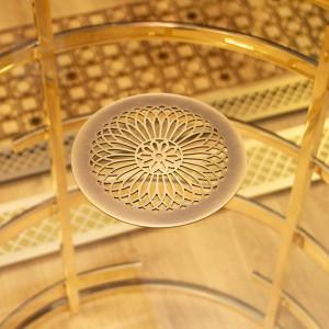 Круглая декоративная деталь для вентиляции с гравировкой