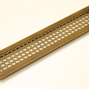 Вентиляционная решетка из латуни в классическом стиле