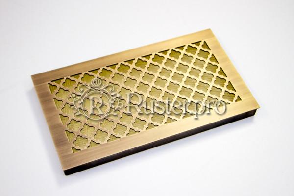 Вентиляционная решетка из латуни с узором Классик