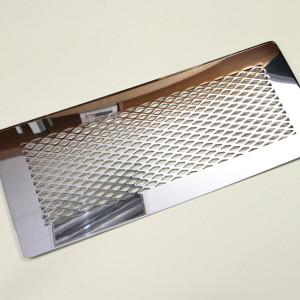 Полированная нержавеющая сталь для встраивания в мебельный фасад