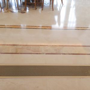 Решетка для радиатора в пол с узором Классик