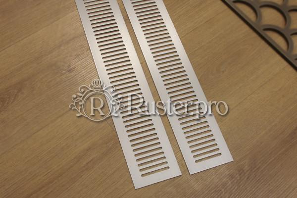 Щелевая вентиляционная решетка из алюминия