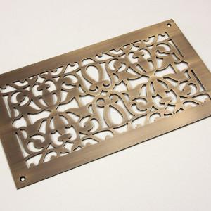Марроканский орнамент из состаренной латуни