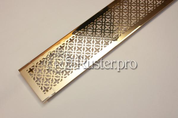 Вентиляционная решетка из полированной латуни